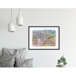 Plakat Panorama Starego Miasta
